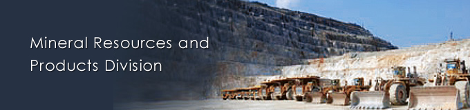 Mineral Resources and Products Division