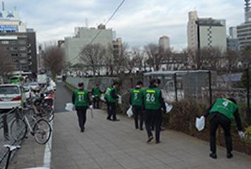本社(東京四ツ谷):清掃活動
