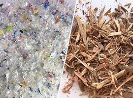 廃プラスチック類、木質バイオマス、廃油等